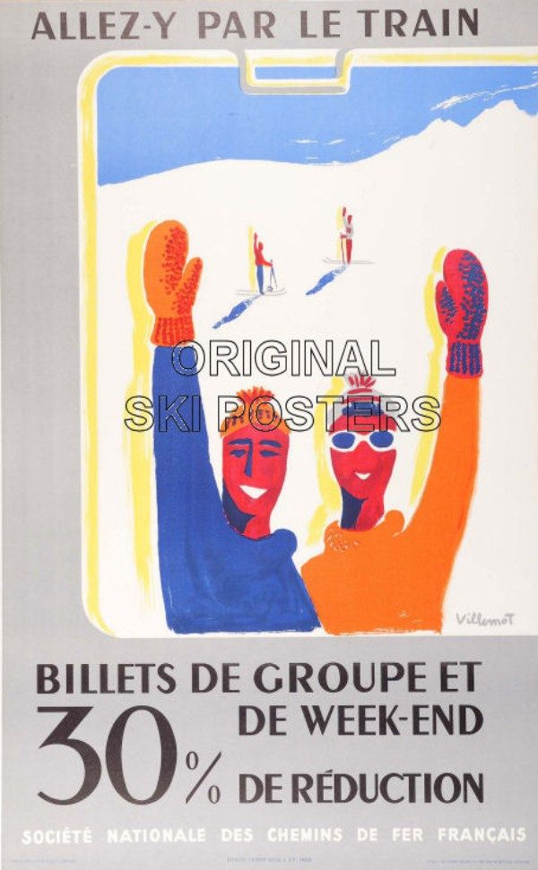 FranceBernard Villemot (1911-1989)