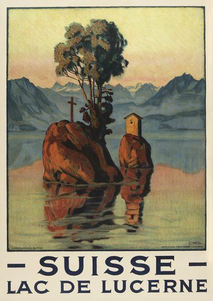 Lac De Lucerne Original Poster