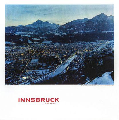 Innsbruck Original Ski Poster