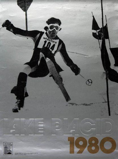 Lake Placid Original Ski Poster