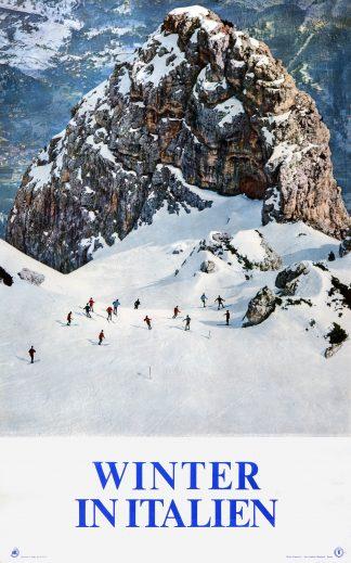 Original Ski Poster