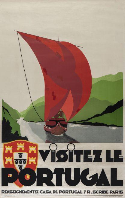 Visitez le Portugal poster
