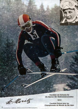 St Moritz Poster