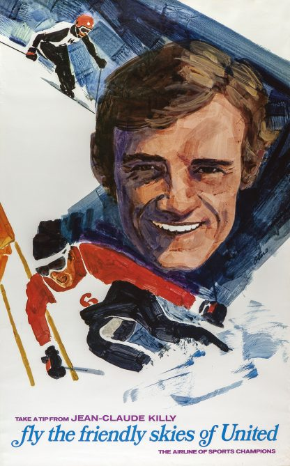 Jean-Claude Killy Poster