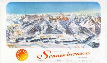 Innsbruck: Winter Piste Map