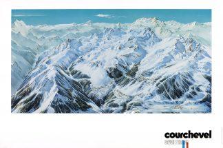 Courchevel: Piste 1976