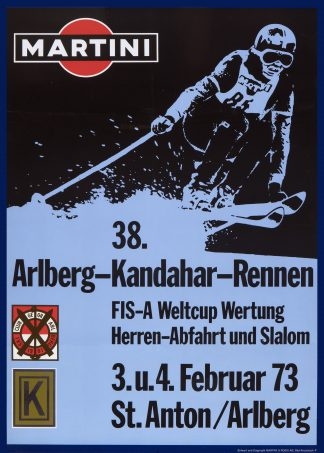 St.Anton: 38th Kandahar Race 1973