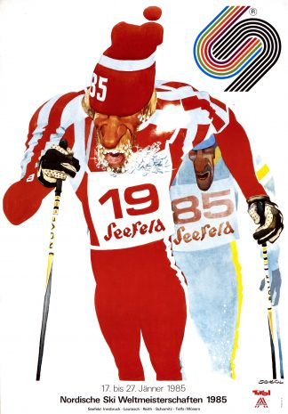 Seefeld: World Nordic Ski Championships 1985