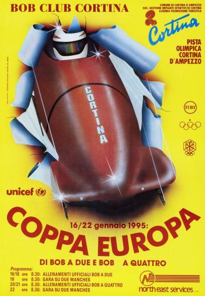 Bobsleigh FISI Coppa Europa - Cortina 1995