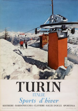 Turin: Sestriere - Sports d'hiver