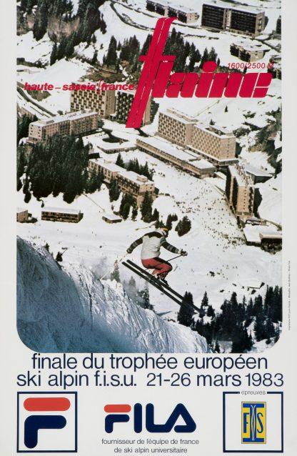 Flaine: FIS Ski European Championship 1983