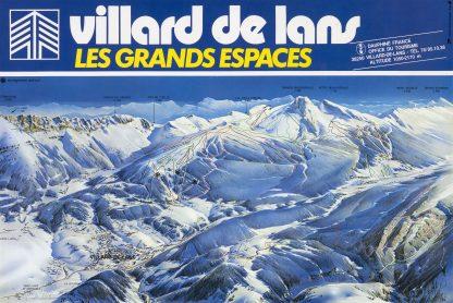 Villard De Lans Piste Map